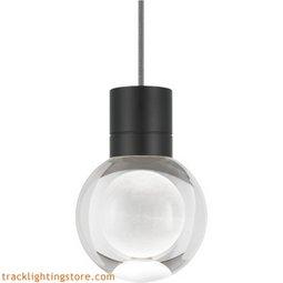 Mina Pendant - Clear - Black - LED - 90 CRI 2200K 700TDMINAP1CBB-LED922