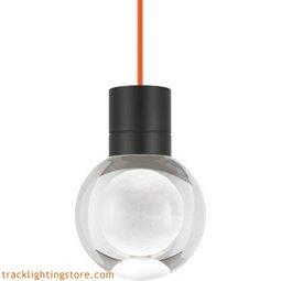 Mina Pendant - Clear - Orange - LED - 90 CRI 2200K 700TDMINAP11COB-LED922