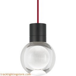Mina Pendant - Clear - Red - LED - 90 CRI 2200K 700TDMINAP11CRB-LED922
