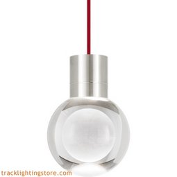 Mina Pendant - Clear - Red - LED - 90 CRI 2200K 700TDMINAP11CRS-LED922