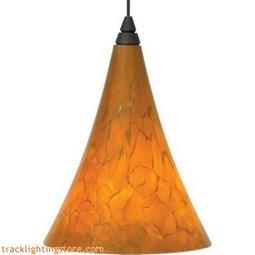 Mini Melrose Pendant - Tahoe Pine Amber