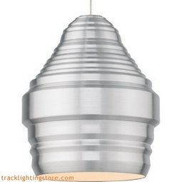 Mini Ryker Pendant - Brushed Aluminum - Halogen