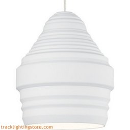 Mini Ryker Pendant - White - Halogen