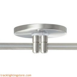 Monorail 4 Inch Round Power Feed Canopy Low Profile Dual Feed