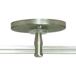 4 Inch Round Powerfeed Canopy with 150 Watt Remote Transformer - 2 Inch stem