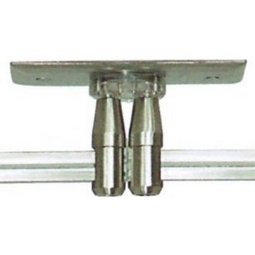 2 x 4 Rectangular dual circuit powerfeed canopy for Tech Monorail