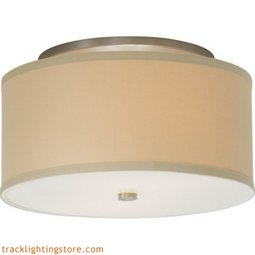 Mulberry Ceiling - Large - Desert Clay - LED 80 CRI 3000K (277)Volts