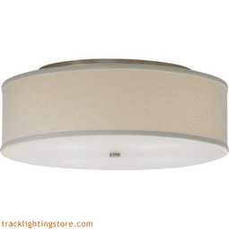 Mulberry Ceiling - Large - White - LED 80 CRI 3000K (277) Volts