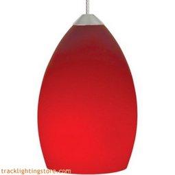 Raindrop Pendant - Red