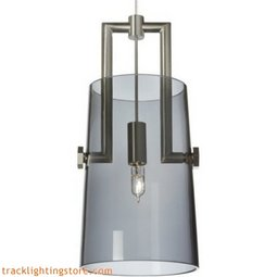 Revere Pendant - Transparent Smoke - Halogen