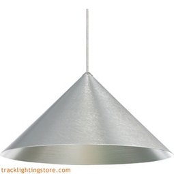 Sky Pendant - 12 Inch Satin Nickel