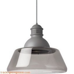 Stratton Pendant - Large - Smoke - LED 3000K (277 Volt)
