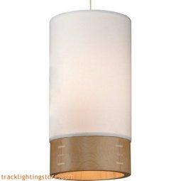 Topo Pendant - White - Maple
